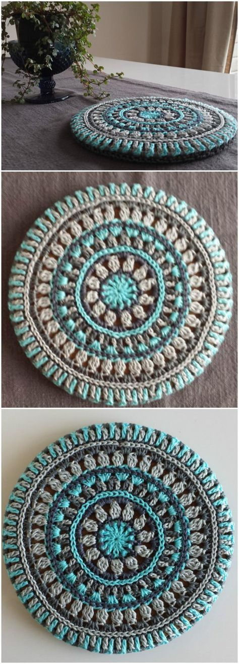 60+ Free Crochet Mandala Patterns - Page 3 of 12 | El mandala ...