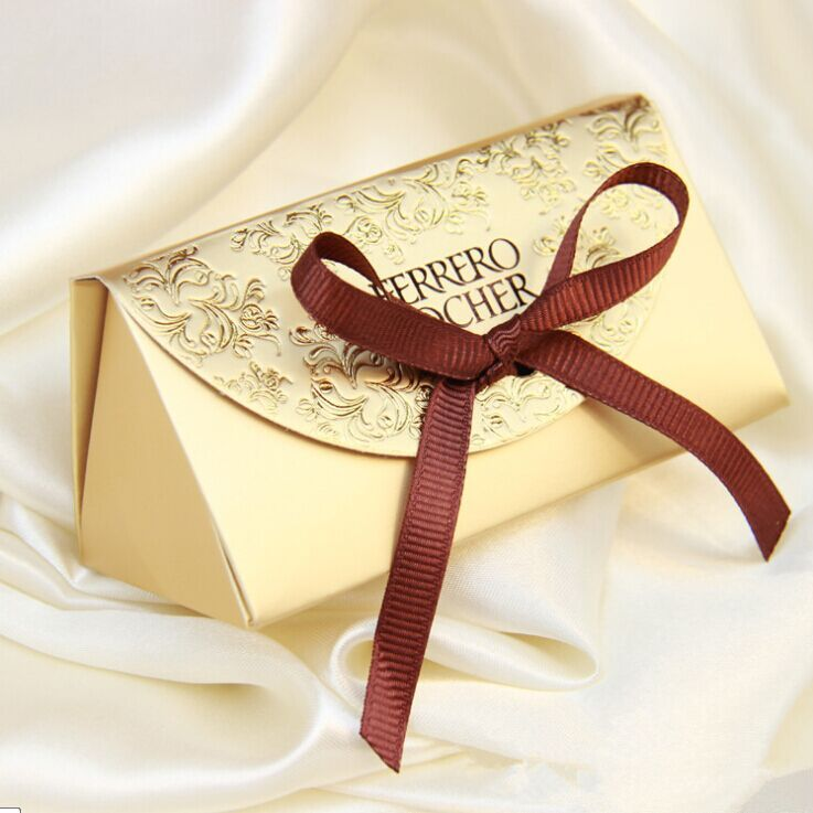 2016 Wedding Favors And Gifts Baby Shower 100pcs Paper Candy Box