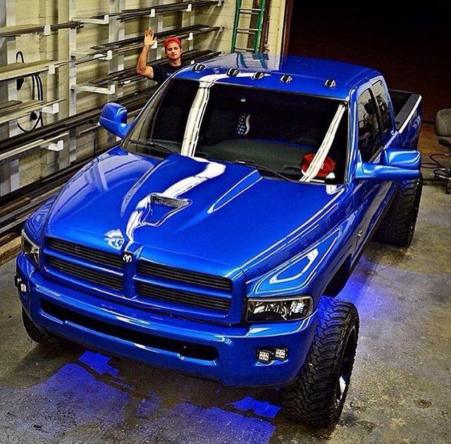 2000 Dodge Ram 1500 Clean Paint Job Dodge Trucks Dodge Cummins Big Trucks