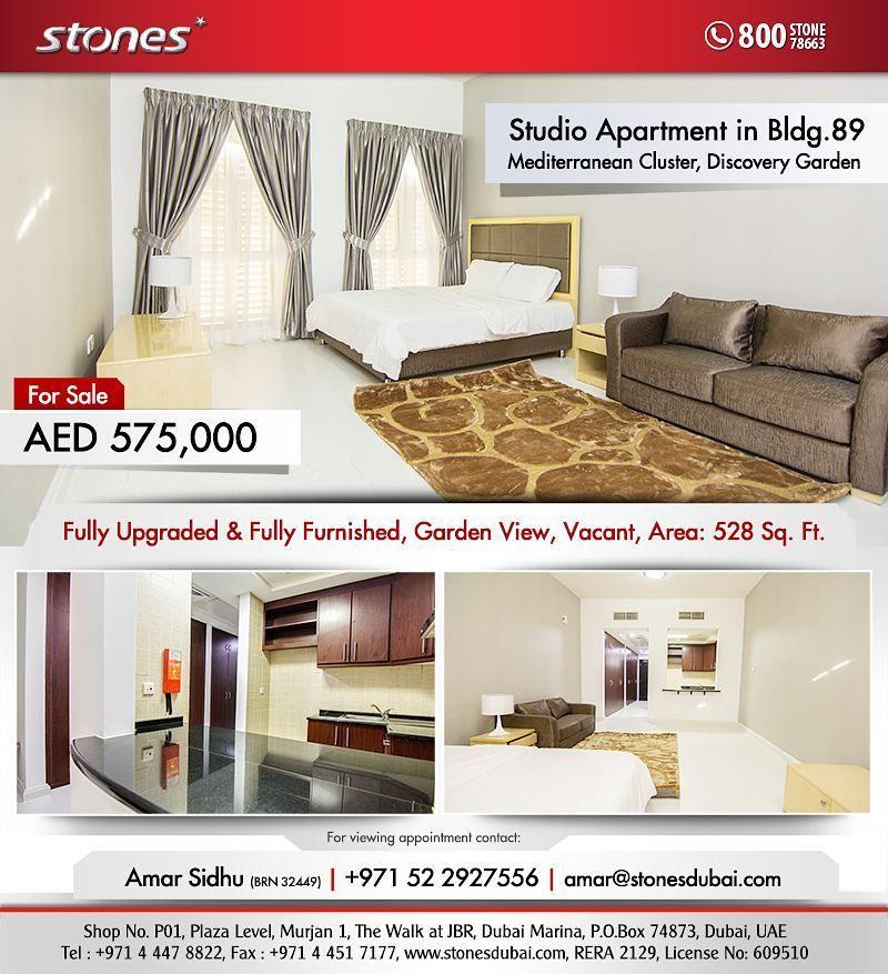 214c779e7afd059cb05fdbf2c7e64967 - Studio Apartment For Sale In Discovery Gardens Dubai