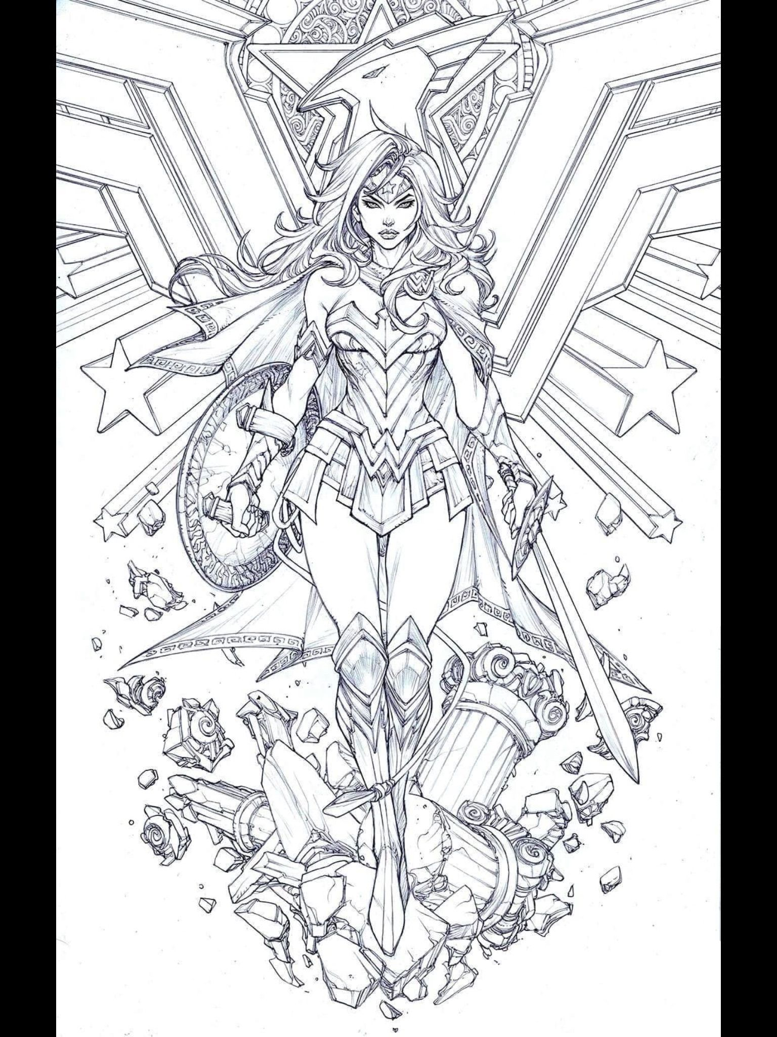 29++ Wonder woman coloring pages for adults trends