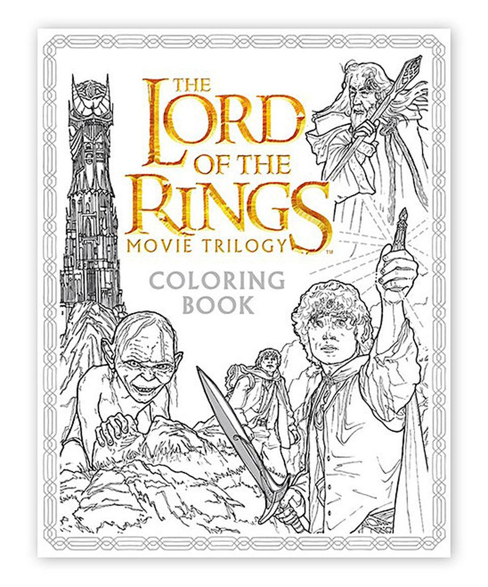 The Lord Of The Rings Movie Trilogy Coloring Book Coloring Books Coloring Book Download Lord Of The Rings