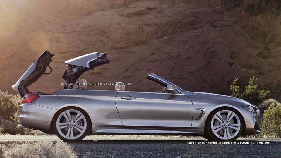 Rendered BMW Series Convertible Road Track Fun Cars - 2013 bmw 4 series convertible
