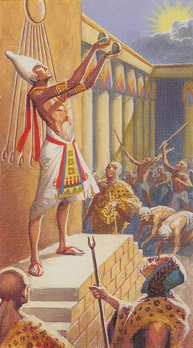 RA- 0 - Der Narr - Ramses - Tarot of Eternity / - Tarocchi dell 'eternita /
