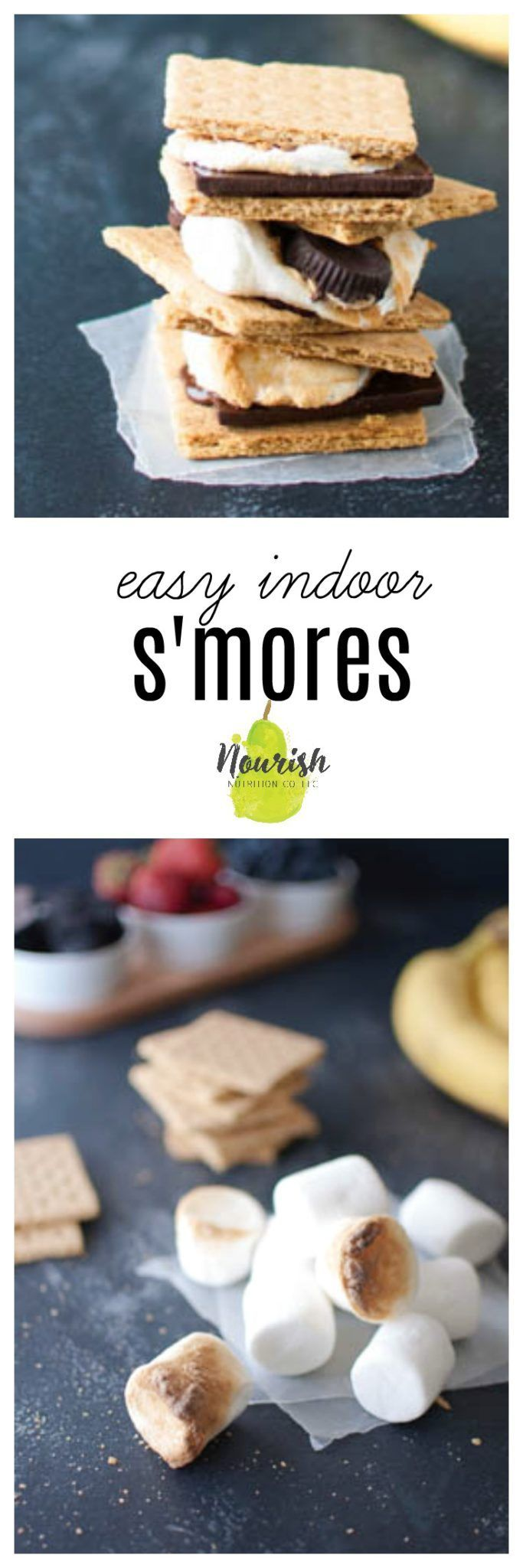 Easy Indoor S\u0027mores with 3 Fun New Toppings | Recipe | Oven, Easy ...
