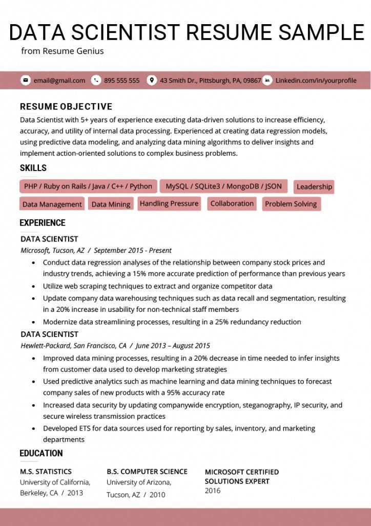 Data Analyst Resume Summary Superb Data Analyst Resume Summary Templates Statement Entry Of 37 Newest Dat Data Scientist Resume Examples Data Analyst
