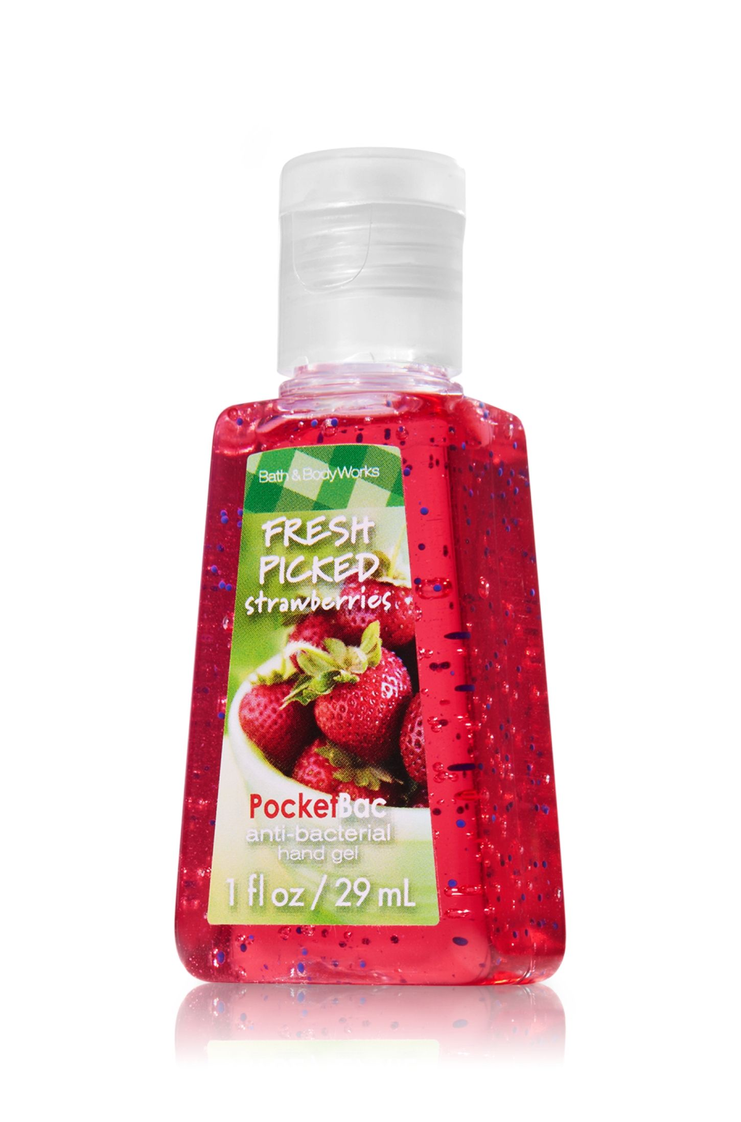 Fresh Picked Strawberries Pocketbac Sanitizing Hand Gel Anti