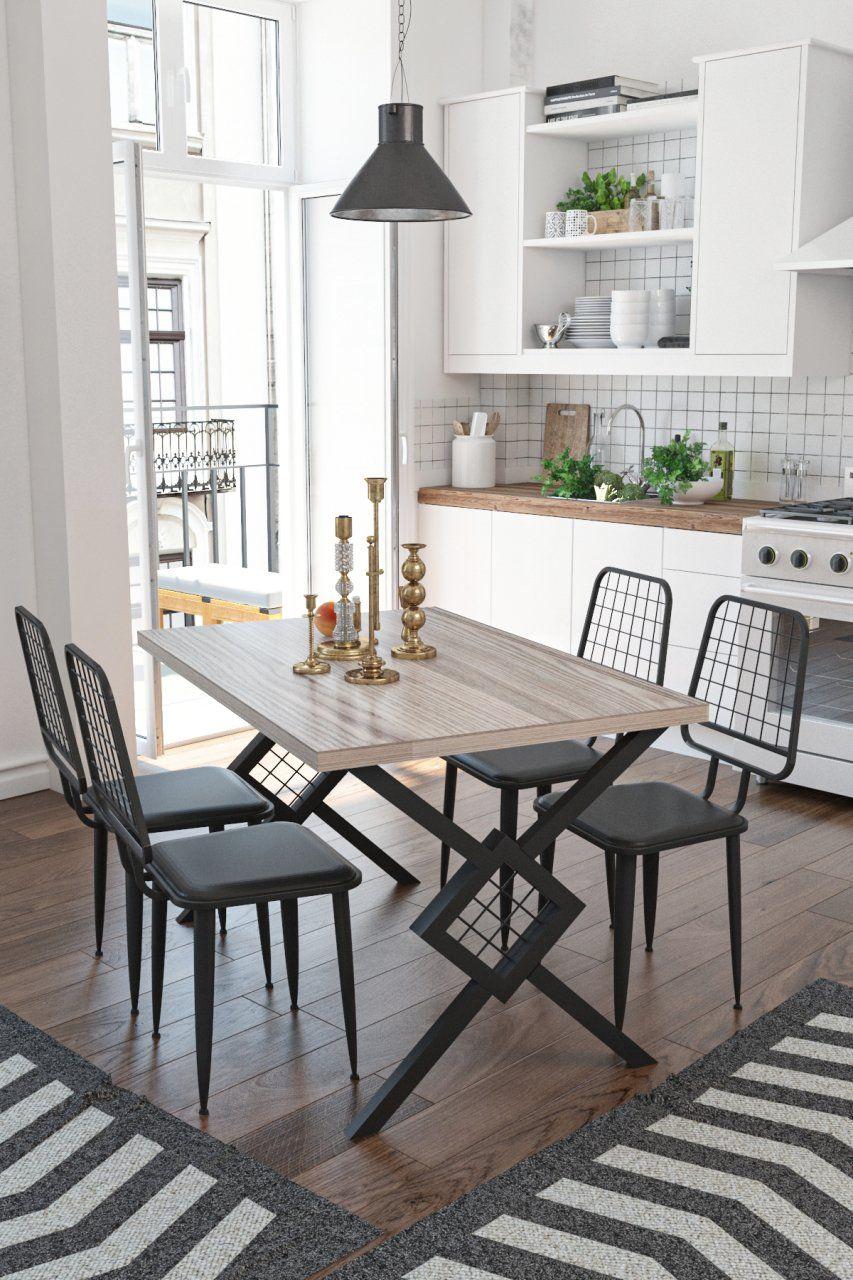 Berlingo Mutfak Balkon Yemek Masasi Takimi 4 Kisilik Sumela 2020 Ev Dekoru Ic Mekan Fikirleri Mutfak