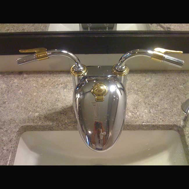 Sink Faucet Motorcycle Tank Handlebars | Other Pictures and Videos ...