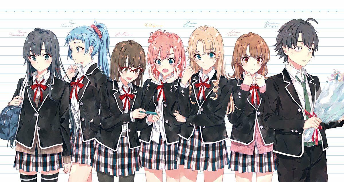 My romantic comedy SNAFU やはり俺の青春, 美しいアニメガール