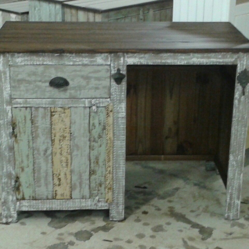 Outdoor Mini Bar With Storage Cabinet, Drawer And Mini Fridge Cubby