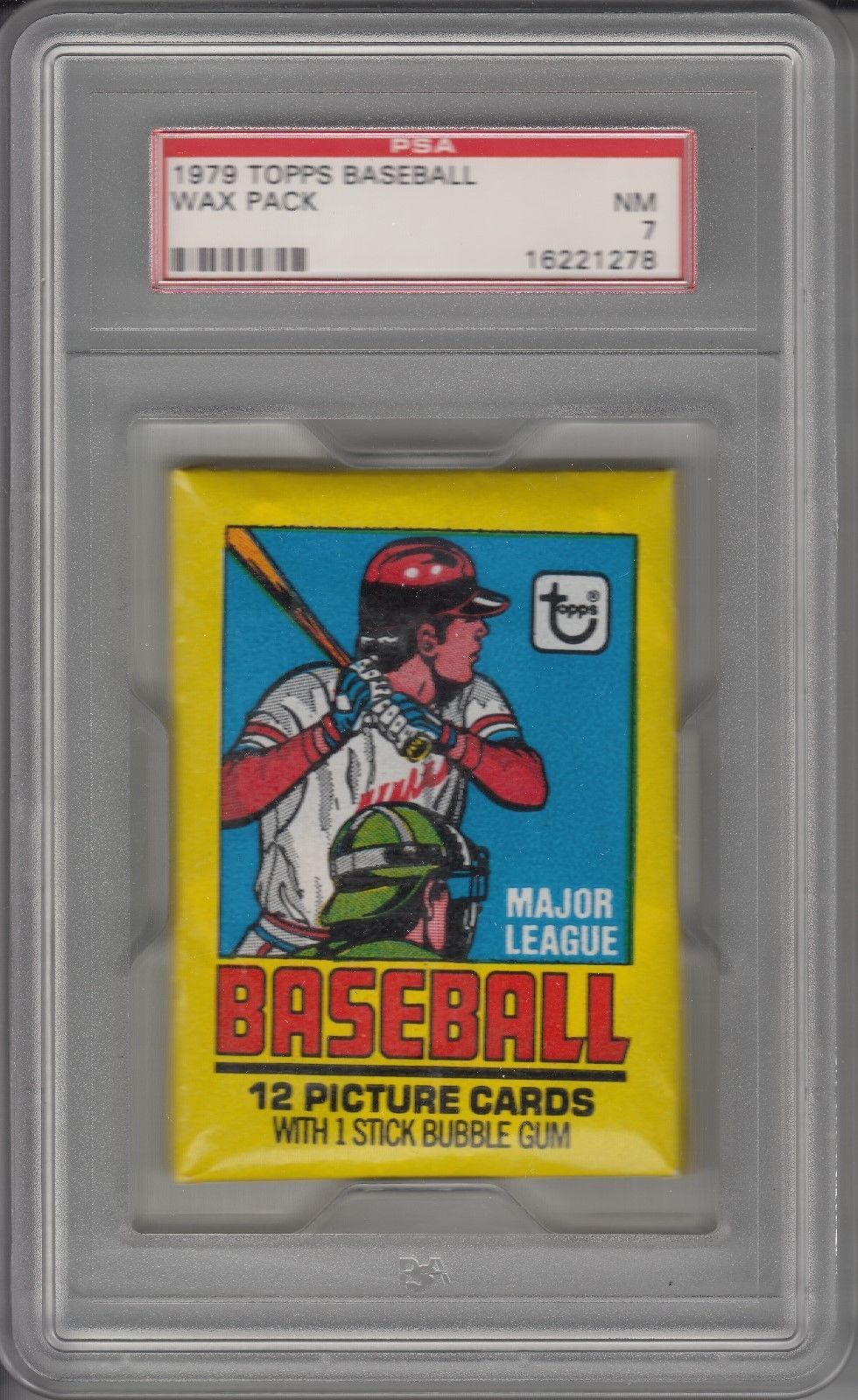 1979 topps baseball unopened wax pack psa 7 collect
