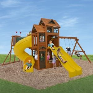Adventure Ridge Swing Set Playset