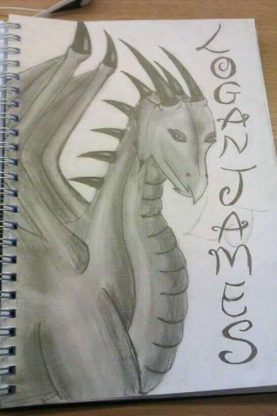 may the mighty dragon watch over you my passion for drawing