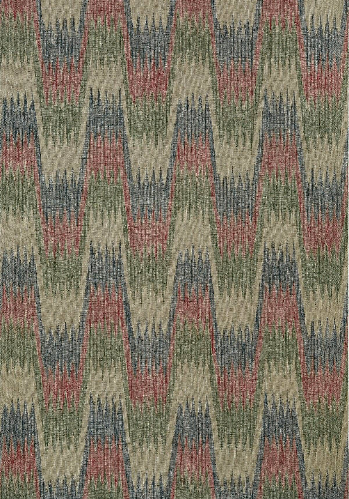 Thibaut Stockholm Chevron Navy and Red Wallpaper T10242