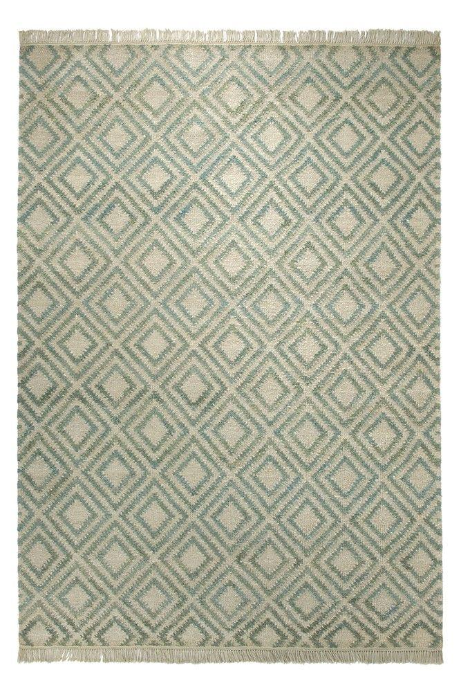 Blattschuss von Teppich Simple ESP-7012-02 in Grün Haus - teppich wohnzimmer grun