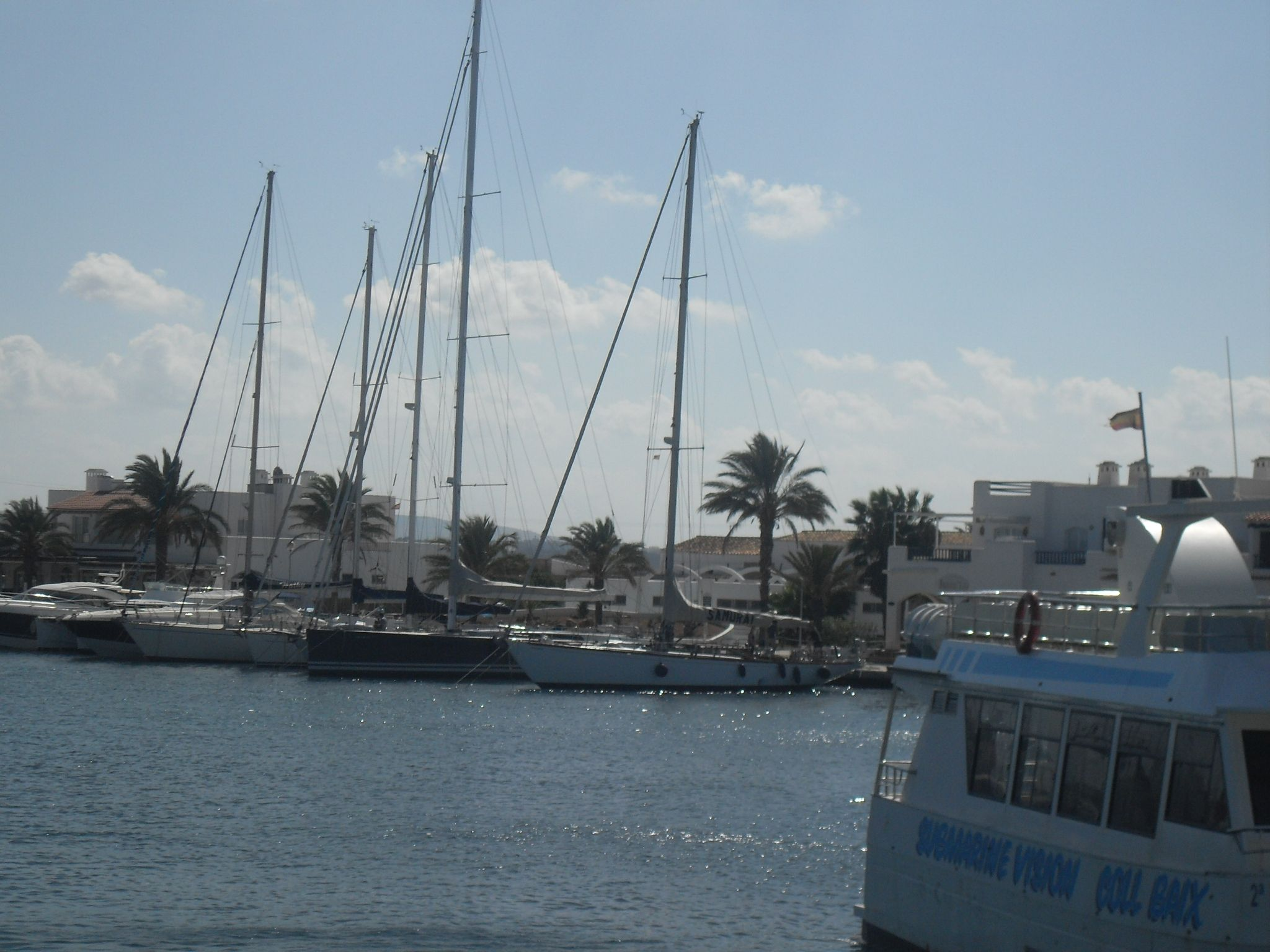 the port of Formentera
