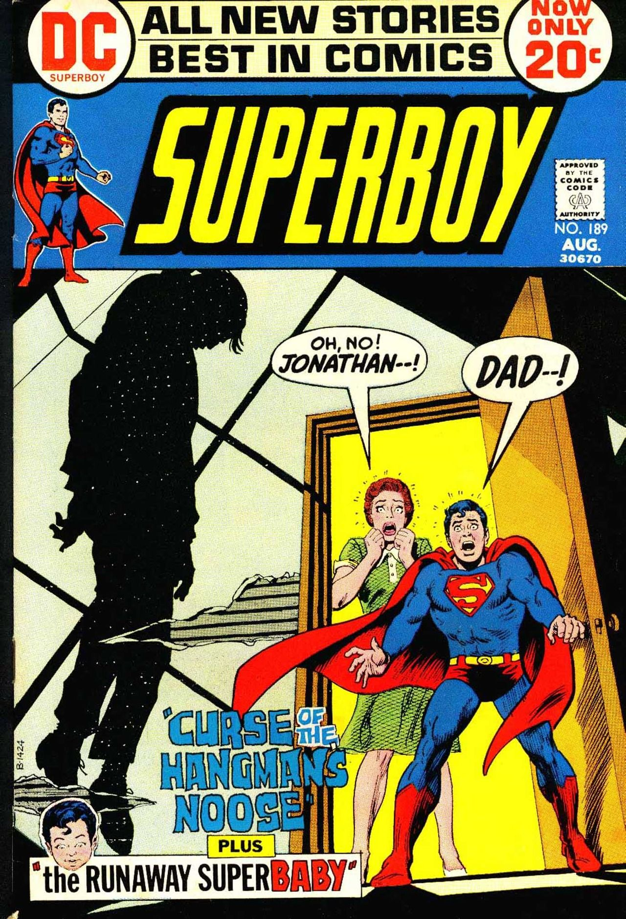 Superboy 189 August Cover By Nick Cardy Kinda