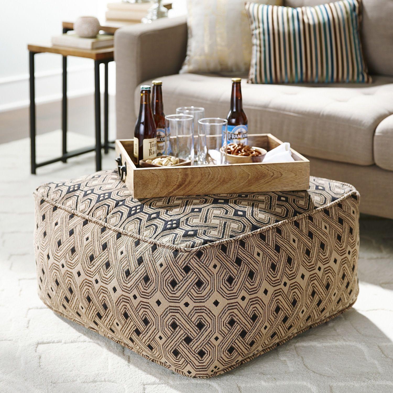 Kuba Floor Pouf | Pier 1 Imports | Furniture World | Pinterest ...