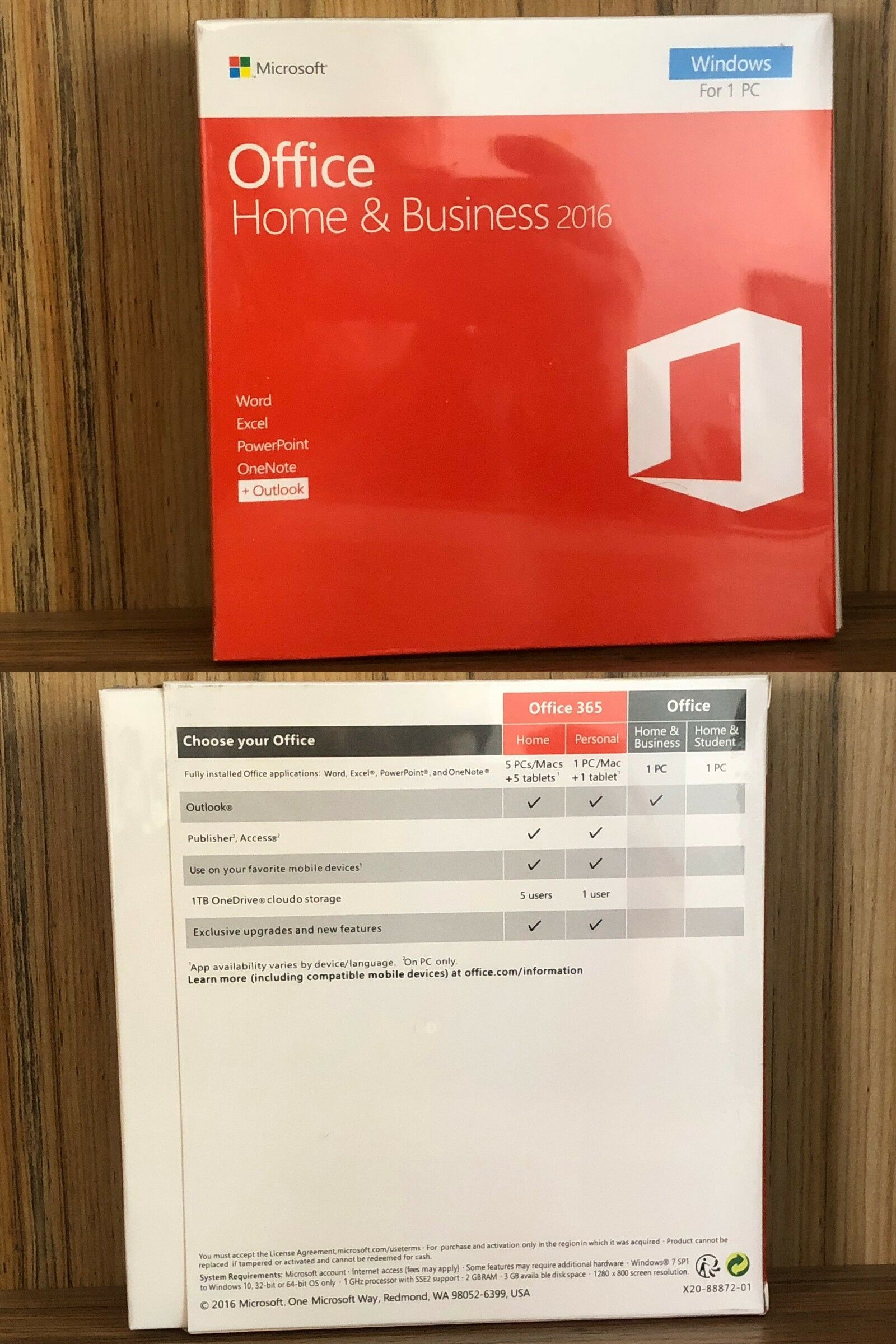 Office And Business 3768 Microsoft Office 2016 Home And Business