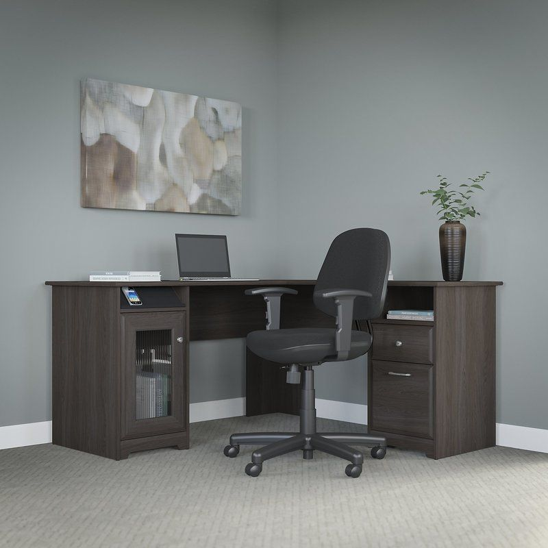 Hillsdale LShape Desk and Chair Set Desk, chair set, L