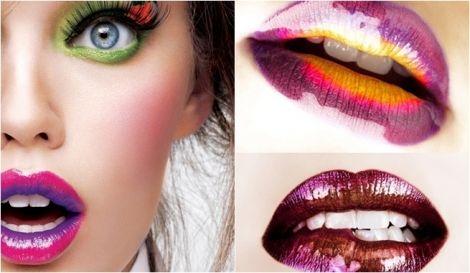 Belleza & Makeup: ¡Labios Bicolor!   Siempre Lindas http://www.siempre-lindas.cl/?p=4298