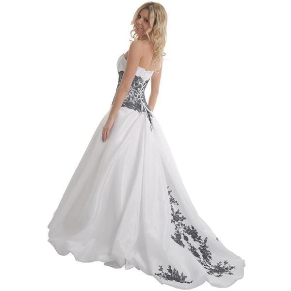 Сонник в черном свадебном платье