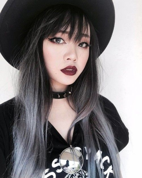 Hair Colored Tumblr Mane Pinterest Hair Coloring Makeup And