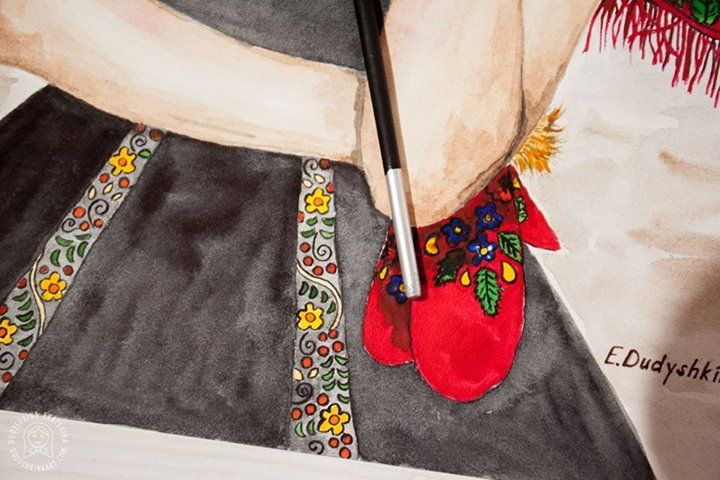 Pancakeweek art. Fashion illustration to Russian prespring holiday Maslenitsa. Fashion watercolor illustration by Dudyshkina Ekaterina. Fashion art with beauty girls. Watercolor painting.  Aquarelle colored splashes.  Watercolour art work. Paints palette. Art space of painter artist. The process of creation. My art tools – brushes, watercolor and oil paints, color palettes, ink. Art for home decor. Акварельная фэшн иллюстрация Дудышкиной Екатерины. #dudyshkina #workspace
