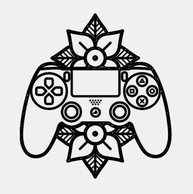 Playstation Controller Tattoo Gamer Tattoos Playstation Tattoo