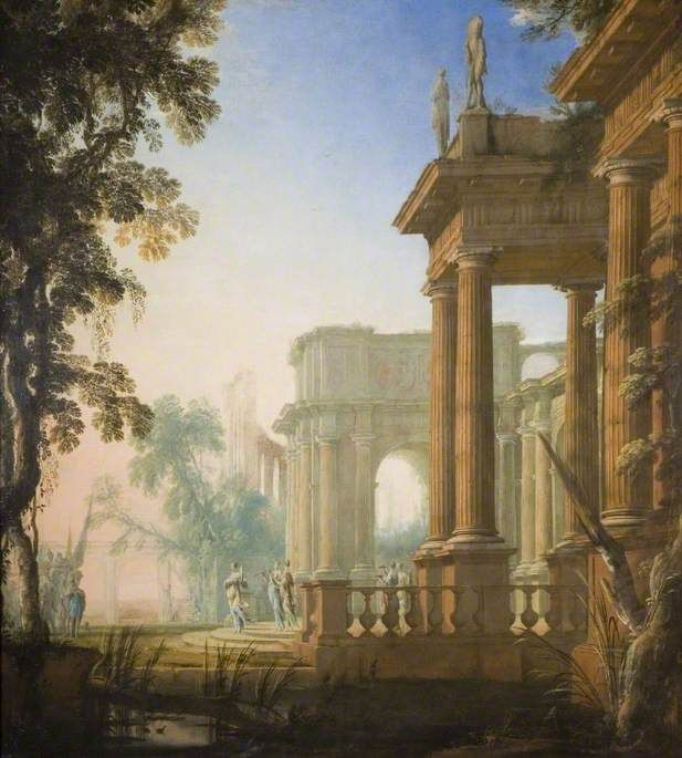 Jephthah And His Daughter 1650 Henri Mauperche Landscape Architecture Drawing Painting