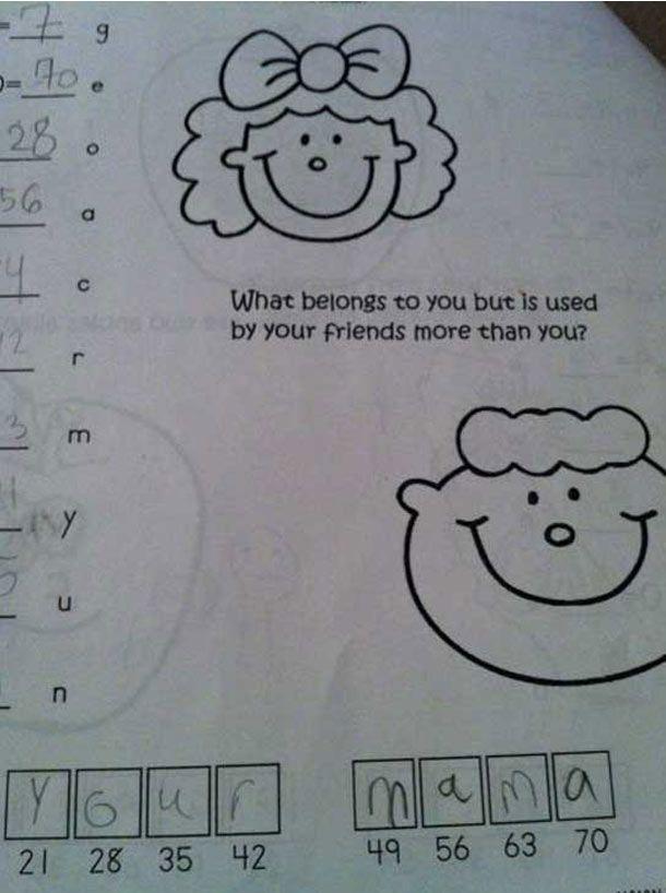 Latest Funny Test Answers 25 Funny Test Answers That Are Ingeniously Wrong 25 Funny Test Answers That Are Ingeniously Wrong 6