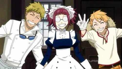 Black Butler- Bard, Meyrin and Finny | Anime | Black butler