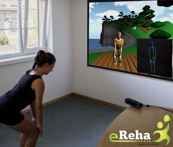 eReha 3D Sensor gestütztes Heimtherapiesystem