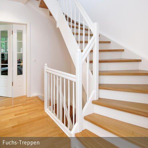Holztreppe meran treppe pinterest for Holztreppe streichen farbe