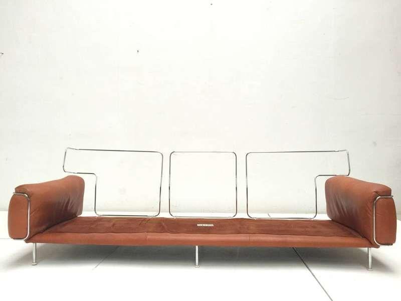 Three Seat Sofa By Italian Designer Vittorio Introini For Saporiti