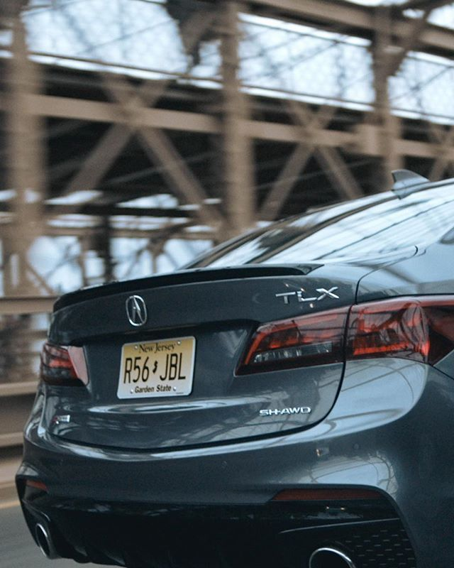 That @acura Looks Right At Home On The Brooklyn Bridge