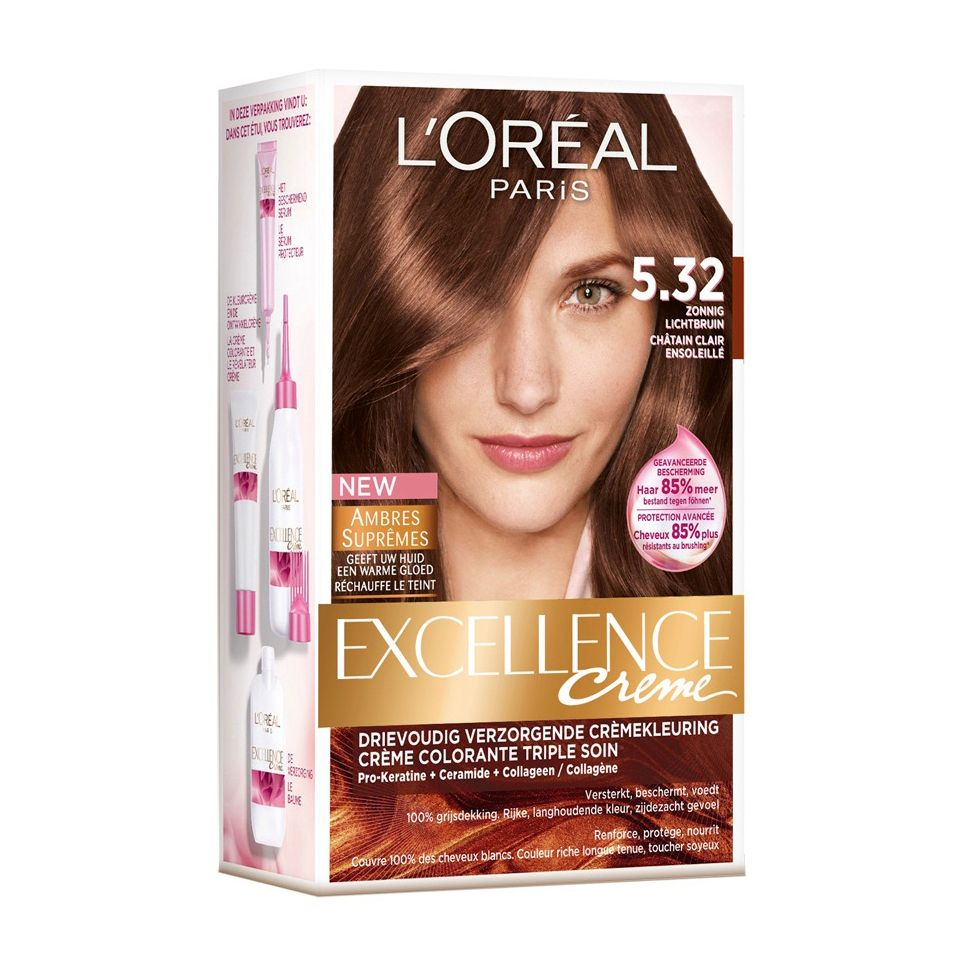 Loreal Excellence Haircolor 5.32 Sunny Light - https://www ...