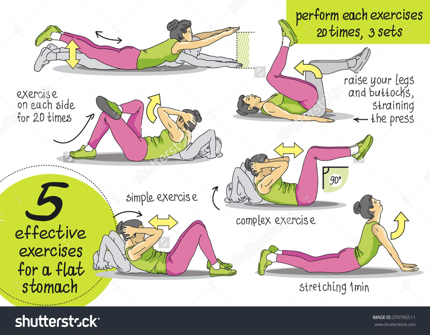 Different Crunch Exercises Google Search Crunches Workout Exercise Abs Workout