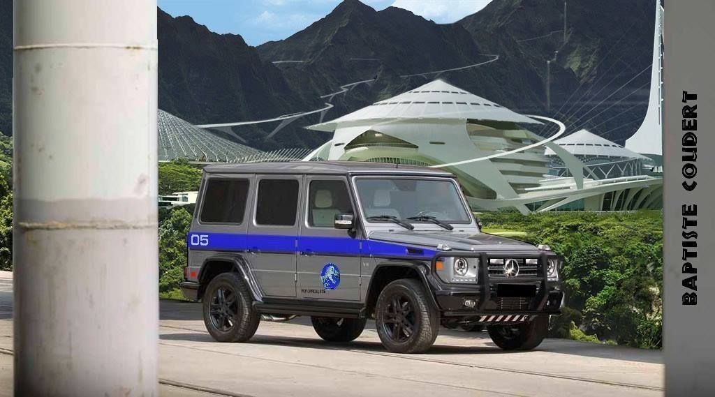 Jurassic World G Class Jurassic World Mercedes Mercedes G63