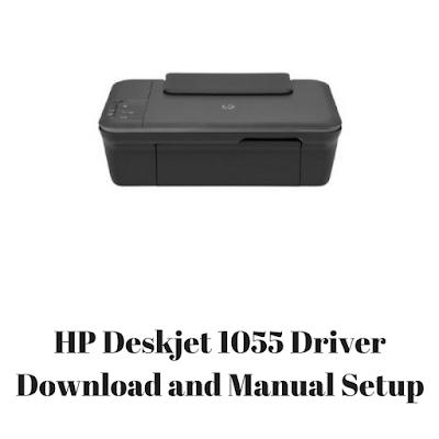 HP Deskjet 1055 Driver & Software Download For Mac, Windows