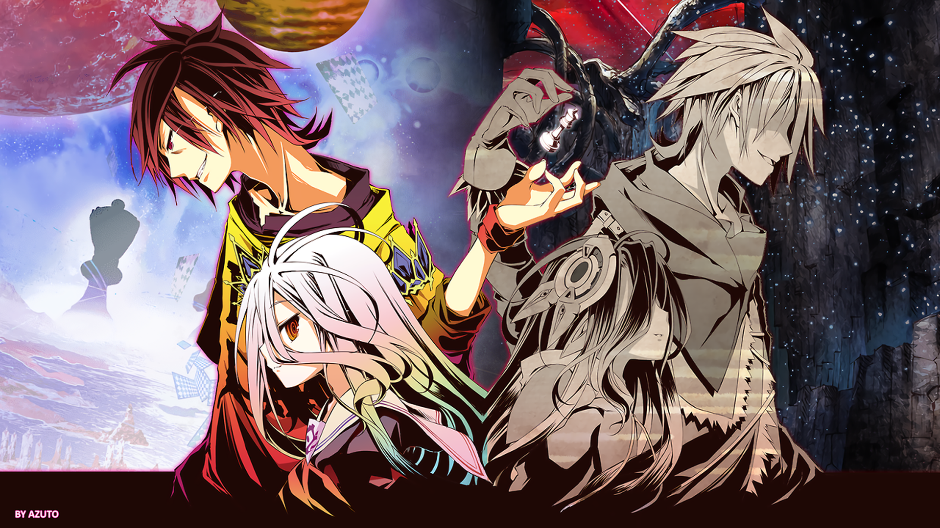 1920x1080 No Game No Life Wallpaper Background Image View