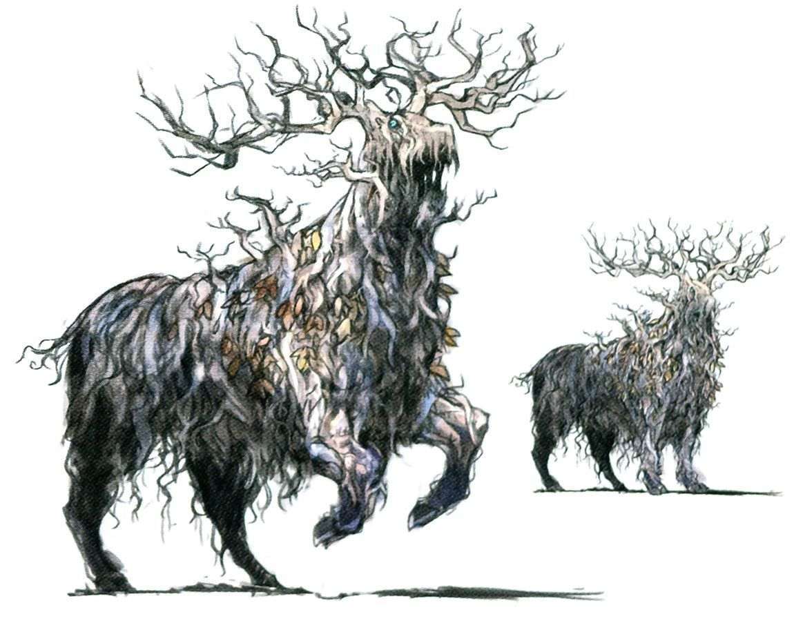 Lord Of The Forest Art From Octopath Traveler Art Artwork Gaming Videogames Gamer Gameart Conceptart Ill Octopath Traveler Forest Art Fantasy Creatures