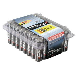 48 Pack Aa Cell Alkaline Batteries Rayovac Ultrapro Industrial Aala 48 Discount For Volume And Bulk Pricing Great P Alkaline Battery Batteries Battery Sizes