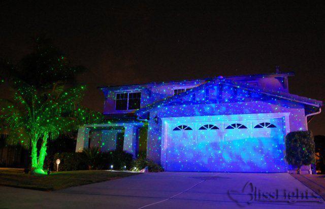 Outdoor Firefly Laser Light Projector Photo Gallery Updated Dec 2016 Laser Christmas Lights Blisslights Lights