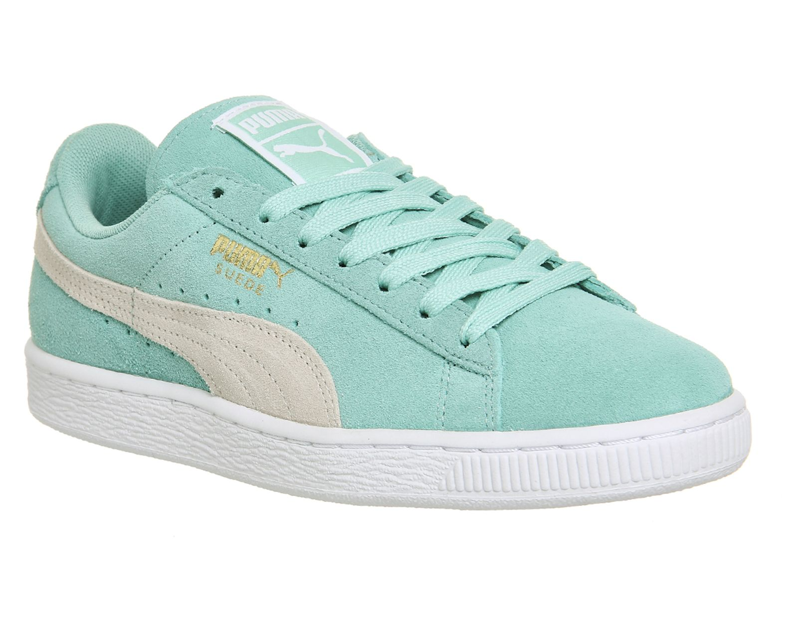 Buy Holiday White Puma Suede Classic from OFFICE.co.uk