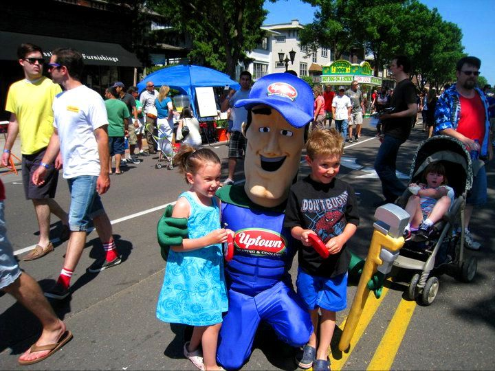Uptown Man The Mascot We Made For Ridler S Uptown Heating And