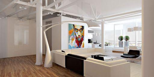 Ultramodern loft lakás Moldova fővárosában - Grosu Art Studio