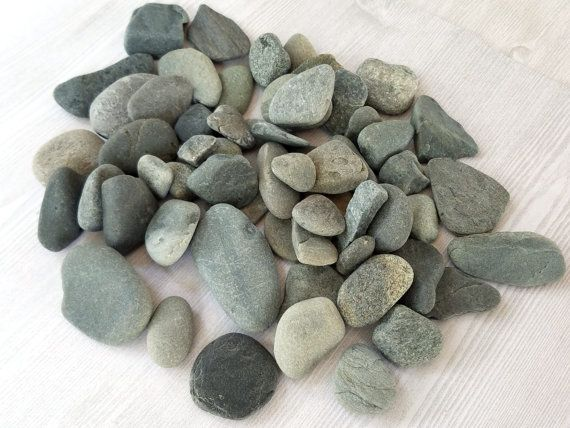 Mosaic Natural Stones Smooth Flat Round Sea Stones in Various Colors Round Craft Rocks 25 Small and Tiny Flat Round Pebbles Art Stones