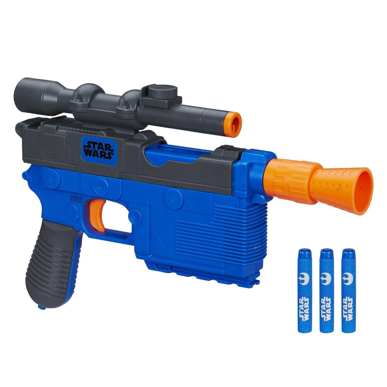 Amazon.com: Star Wars Episode VII Nerf Han Solo Blaster: Toys & Games